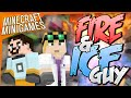 Minecraft Minigames - FIVE STARS FIRE AND ICE GUY (HiveMC and Hypixel)
