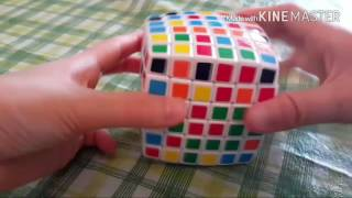how to solve a 6x6 rubiks cube part 1