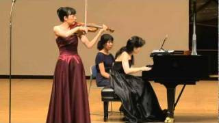 No.9 Rachmaninoff : Vocalise Op.34, No.14 - Mitsuko Ito Violin Recital