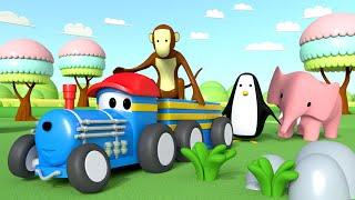 サーカス - トレインのテッドと一緒に学ぼう 👶 🚄 I 幼児向け教育アニメ 🚄トレインと一緒に学ぼう👶 Educational Cartoon for Kids thumbnail