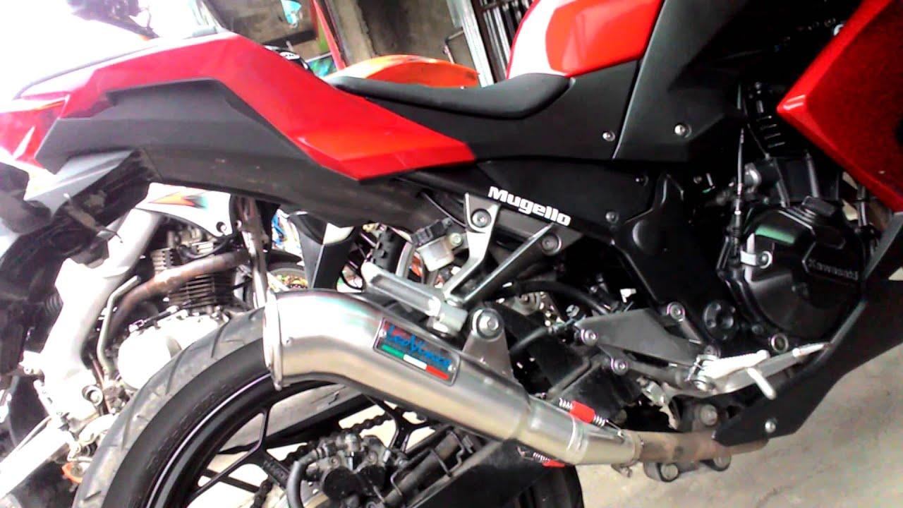 testimoni ninja250 vkr(knalpot racing) - youtube