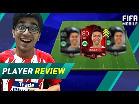 THE FASTEST PLAYER 84 BOOSTED BOLLY HAS 108 PACE in FIFA Mobile 18 S2 ?!? FIFA 18 Mobile