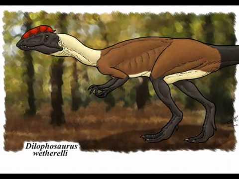 Tribute to Dilophosaurus