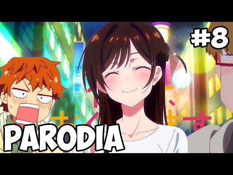 LA NOVIA RENTADA #8 - Rent-A-Girlfriend - PARODIA RESUMIDA