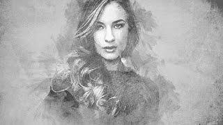 Video Artistic Pencil Sketch Effect Photoshop download MP3, 3GP, MP4, WEBM, AVI, FLV Juni 2018