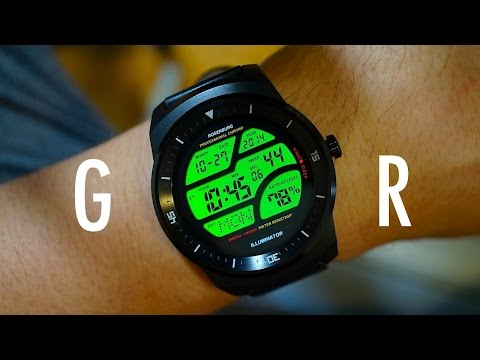 Unboxing the G Watch R, LG's Perfect Circle of a Smartwatch | Pocketnow