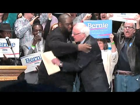 Killer Mike Gives A Powerful Speech At A Presidential Rally For Bernie Sanders In Atlanta