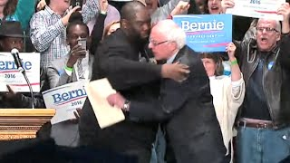 Rapper Killer Mike endorses Bernie Sanders