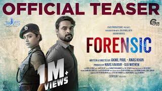 Forensic Malayalam Movie Official Teaser Tovino Thomas Mamtha Mohandas Akhil Paul Anas Khan Youtube
