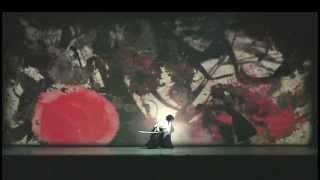 早乙女 太一 龍と牡丹 2012 ( 剣舞・影絵 ) Taichi Saotome「 Dragon an...