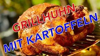 perfektes GRILLHUHN in nur 40 Minuten im TANDOR OFEN grillen --- Klaus grillt