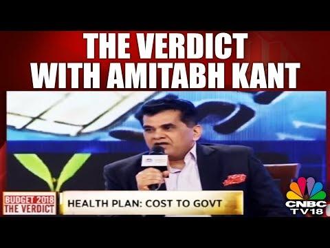 #BudgetVerdict,: The Verdict With Amitabh Kant   #budget, #cnbc tv18   CNBC TV18