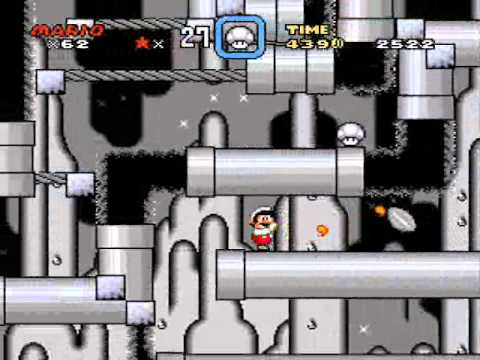 SMWCP - 14 - those underground cave levels