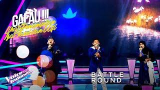 Download Farel Vs Izat Vs Ulfi - Asal Kau Bahagia | Battle Round | The Voice Kids Indonesia Season 4 GTV 2021