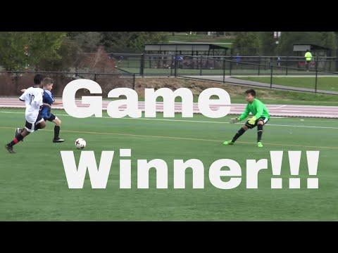 Soccer Star Anthany De Sousa Game Winning Goal