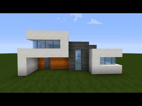 Minecraft modernes haus bauen 3 tutorial anleitu for Modernes haus bauen minecraft