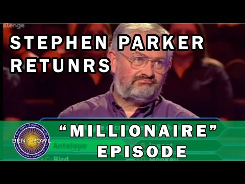 Who Wants to be a Millionaire UK Stephen Parker Returns 16-10-2001