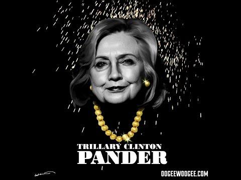 "Hillary Clinton Pander ""Panda"" Parody Song."