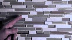 Mosaic Wall Tile Installation Video