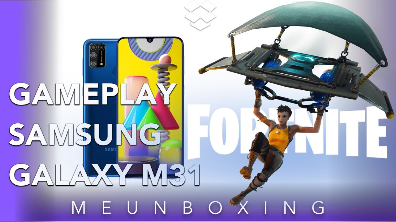 Samsung Galaxy M31 Fortnite  GamePlay #Fortnite #M31 #Galaxy