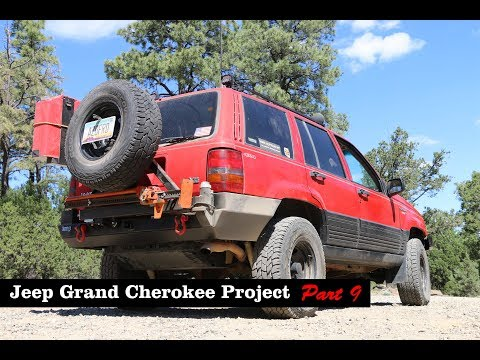 Jeep Grand Cherokee Project (Part 9) - Rear Bumper + Tire Carrier