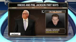 Knicks fan and actor Michael Rapaport celebrates Phil Jackson exit thumbnail