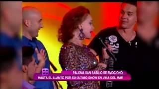 Paloma San Basilio se llevó todos los premios de Viña del Mar