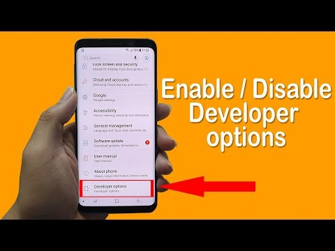 How To Enable / Disable Developer Option On Android 2019