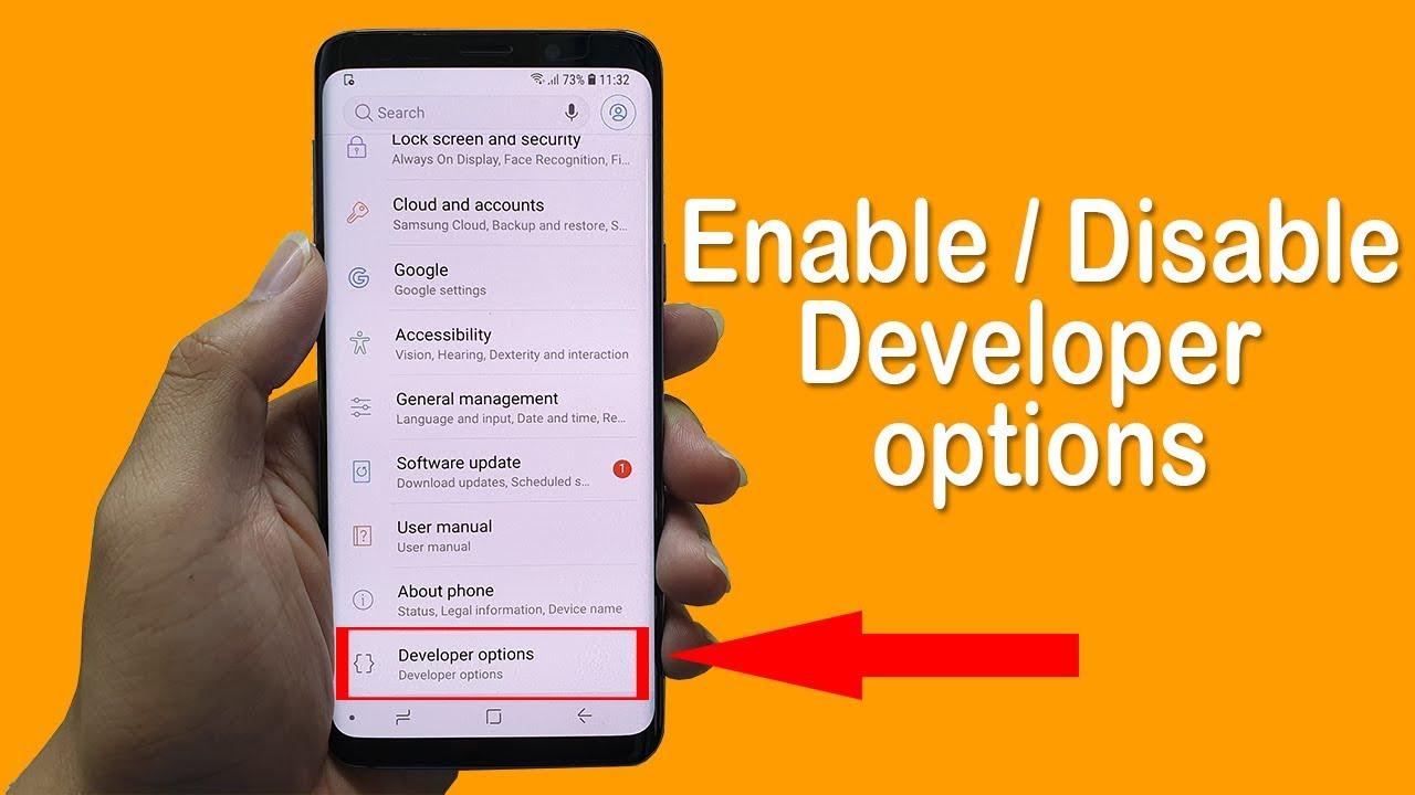 apa fungsi developer option android