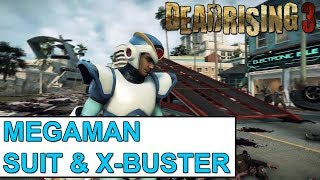 "Dead Rising 3: How To Get ""Megaman Suit"" & ""Megaman X-Buster"" (How/To) [DR3]"