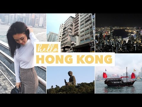 HELLO HONG KONG 🇭🇰 Travel Vlog