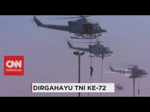 Teknik TNI Menyusup dan Melumpuhkan Musuh - HUT TNI ke-72