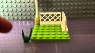 How To Make A Lego Mini Garden!!!