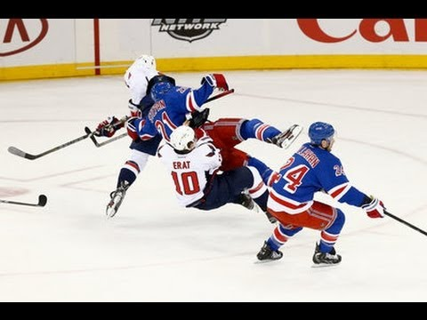 Martin Erat injured in collision with Alex Ovechkin [8 May, 2013]