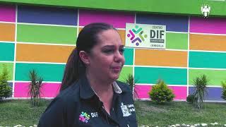 Los Jugadores de la categoría Sub 15 hicieron una visita muy especial al DIF de Santiago N.L.