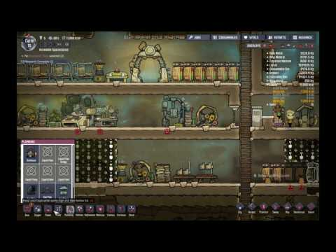 Let's Play - Oxygen Not Included - Agricultural Update - Ep 2 - Natural Gas is Hard.