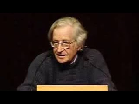 Noam Chomsky The Militarization of Science and Space (2004)