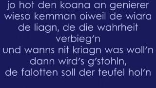 Hubert von Goisern - Brenna duads guat - Lyrics