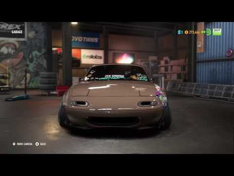 garage need for speed payback cars