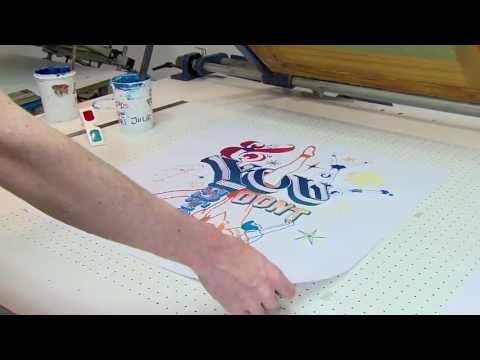 Reportage Association de Serigraphie LA PRESSE PUREE // RENNES