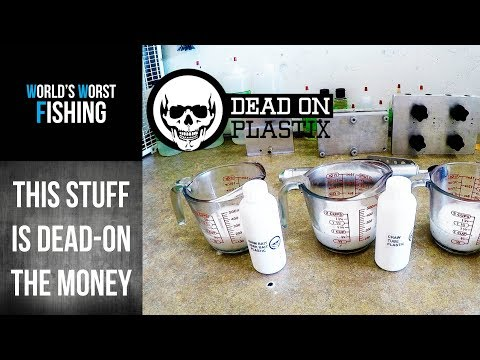 DEAD ON PLASTIX REVIEW!! Testing The Ultimate Plastisol For Fishing Lures