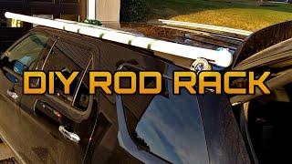 best and easiest diy fly rod car top rack carrier cheap