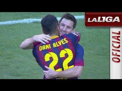 Resumen de FC Barcelona (7-0) Levante UD  - HD - Highlights thumbnail