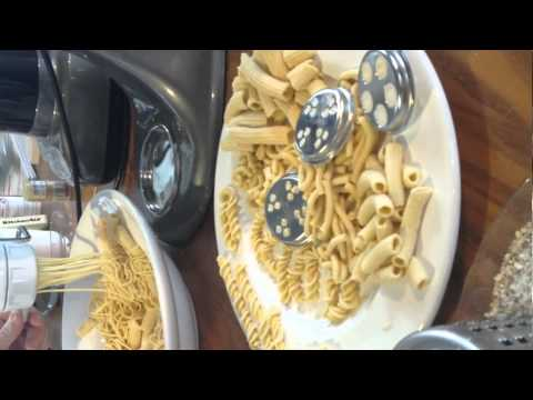 kitchenaid mincer attachment instructions