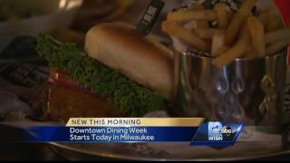 Downtown Dining Week begins Thursday