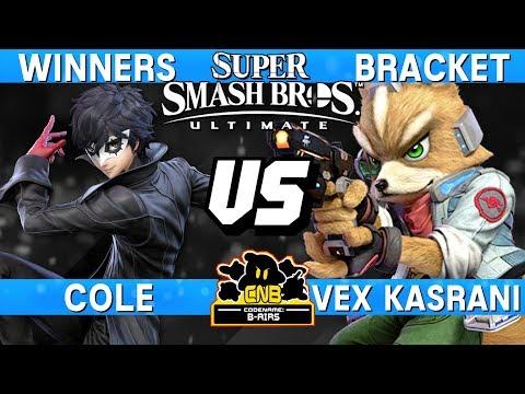 Smash Ultimate Tournament Set - Cole (Joker) vs Vex Kasrani (Fox) - CNB 184