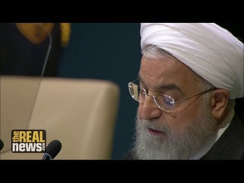 Iran's President Rouhani Charges US with 'Economic Terrorism' at UN