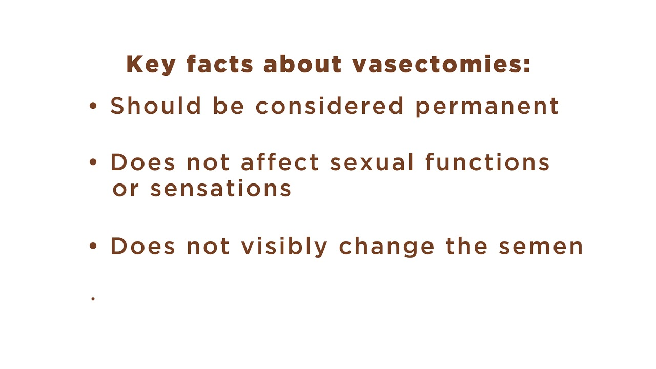 Vasectomy | The Urology Group