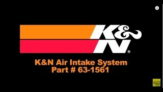 2009 2015 dodge ram performance cold air intake system kit k aircharger 63 1561 installation