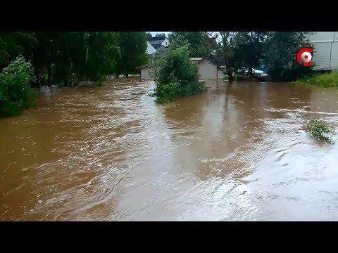 Наводнение в Вытегре: хроника событий